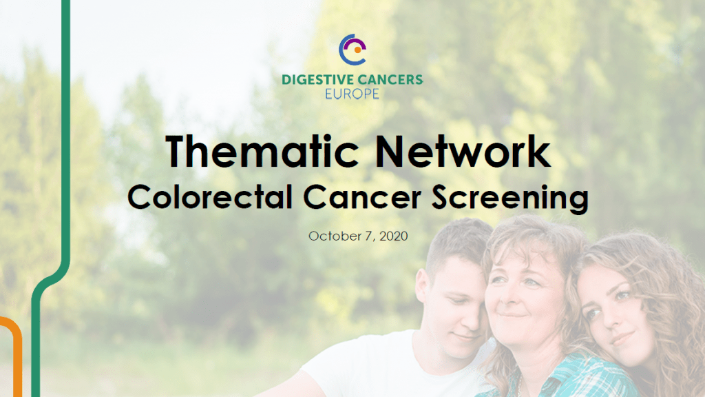 Thematic Network Colorectal Cancer Screening